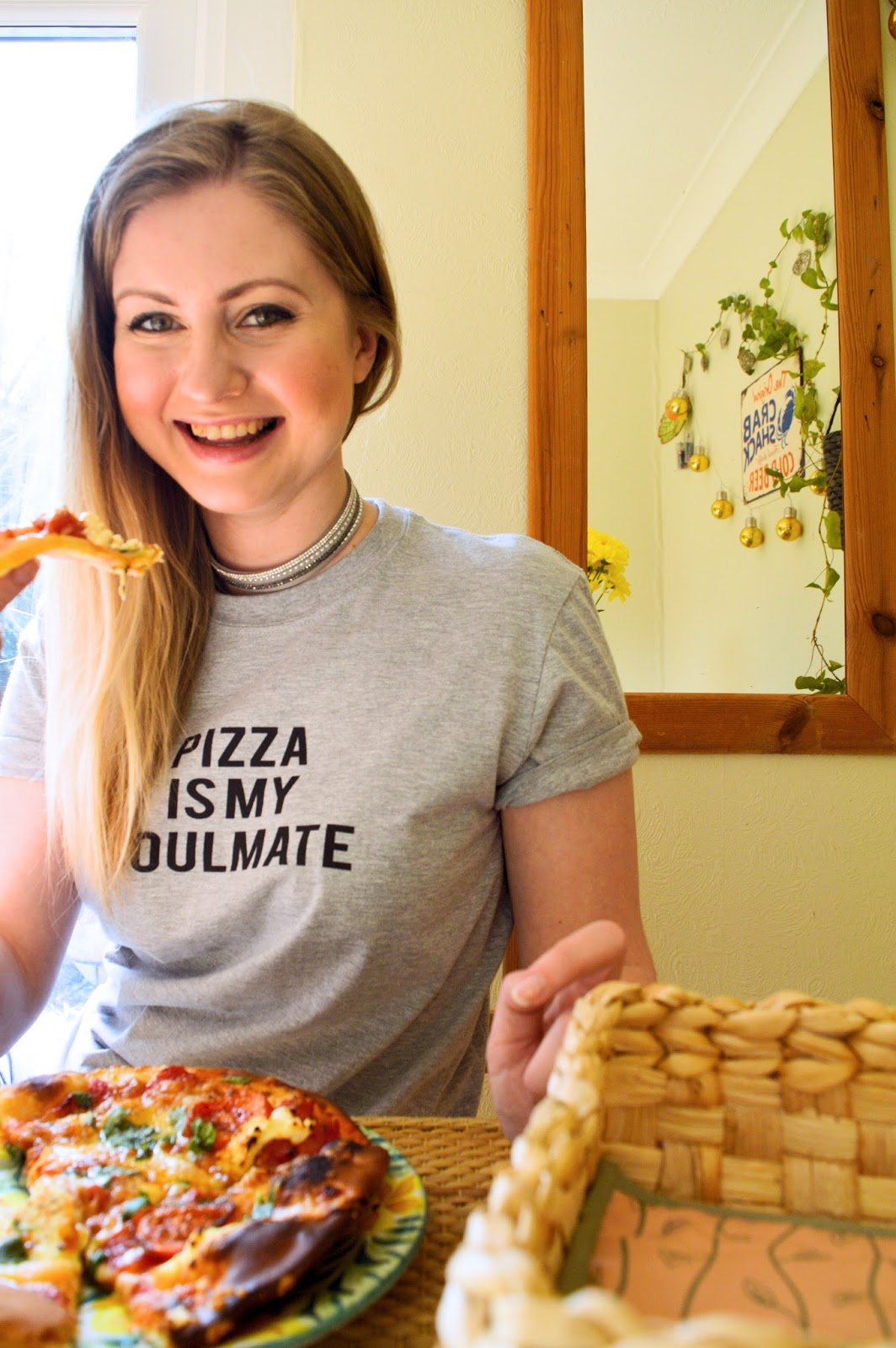 Pizza Is My Soulmate t-shirt, fashion bloggers, Dalry Rose blog