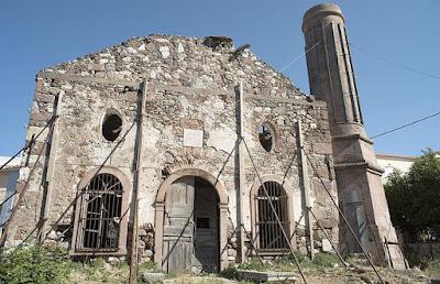 Αναστηλώνεται το Βαλιδέ Τζαμί στη Μυτιλήνη