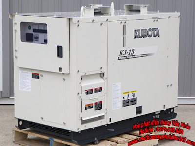 Máy phát điện Kubota 12.5kva KJ-13