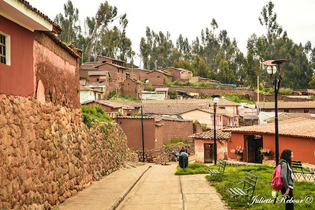 Centre ville de Chinchero