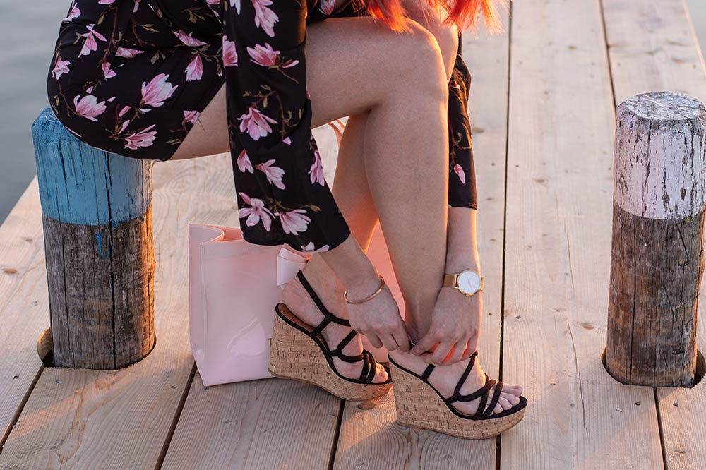 Outfit Rosy Flower Details