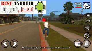 تحميل لعبة  GTA San Andreas جتا سان اندرس مهكرة للاندرويد باخر إصدار برابط مباشر، لعبة حرامي السيارات، لعبة سارق السيارات، سان أندرس مهكرة كاملة برابط مباشر مع قائمة الغش