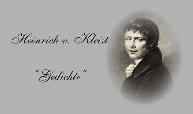 Heinrich von Kleist-Gedichte