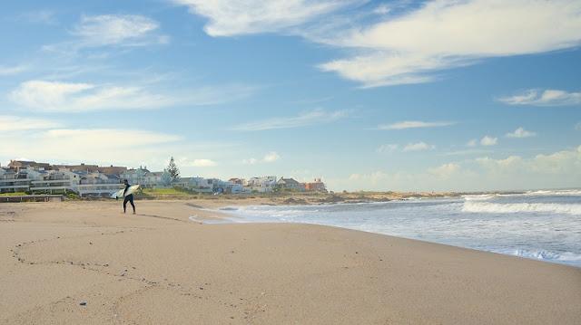 Viagem de carro alugado pelas praias do Uruguai