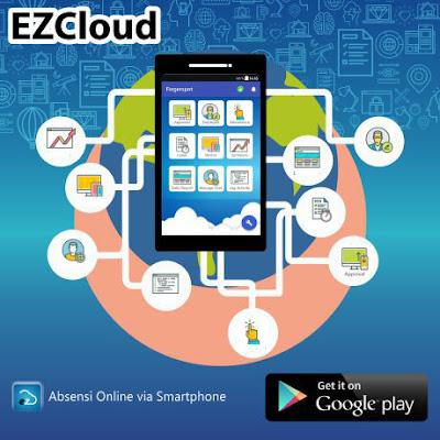 Aplikasi ezcloud mudah remote fingerprint dengan android
