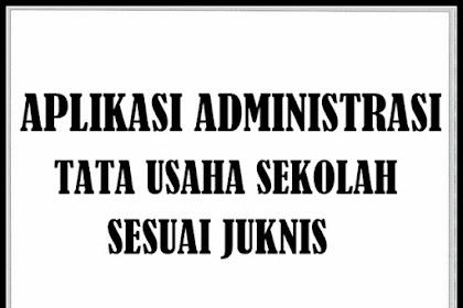 Unduh Contoh Administrasi Tata Usaha SD SMP SMA Versi Terbaru 2018/2019