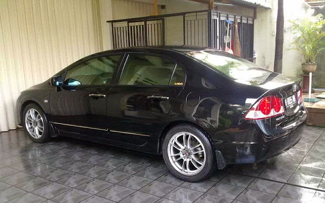 Review Mobil Honda Civic FD1 & FD2 2007