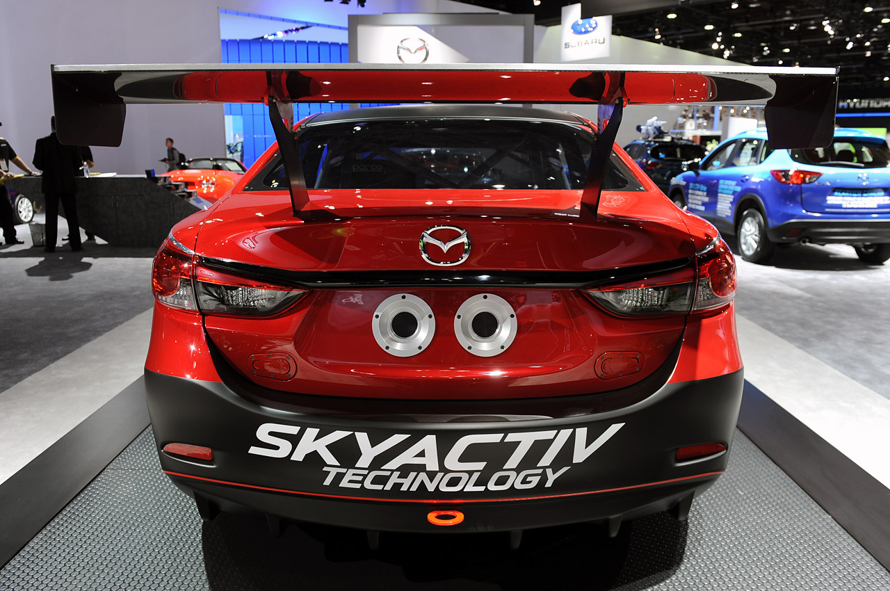 mazda6 skyactiv d racecar ready to bring diesel to grand am we obsessively cover the auto industry. Black Bedroom Furniture Sets. Home Design Ideas