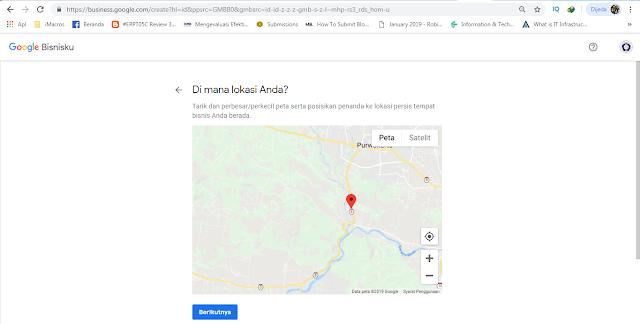 Mendaftarkan Usaha Pada Google Bisnisku