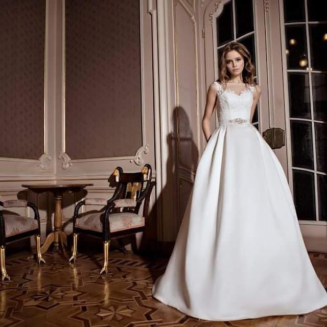 قالب بارتون -فستان زفاف موديل 2017  قالب سهل و مميز -pattren dresses