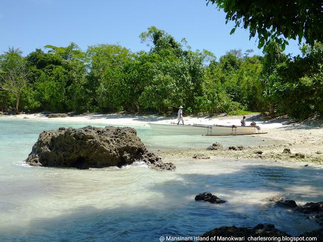 tropical island of Mansinam