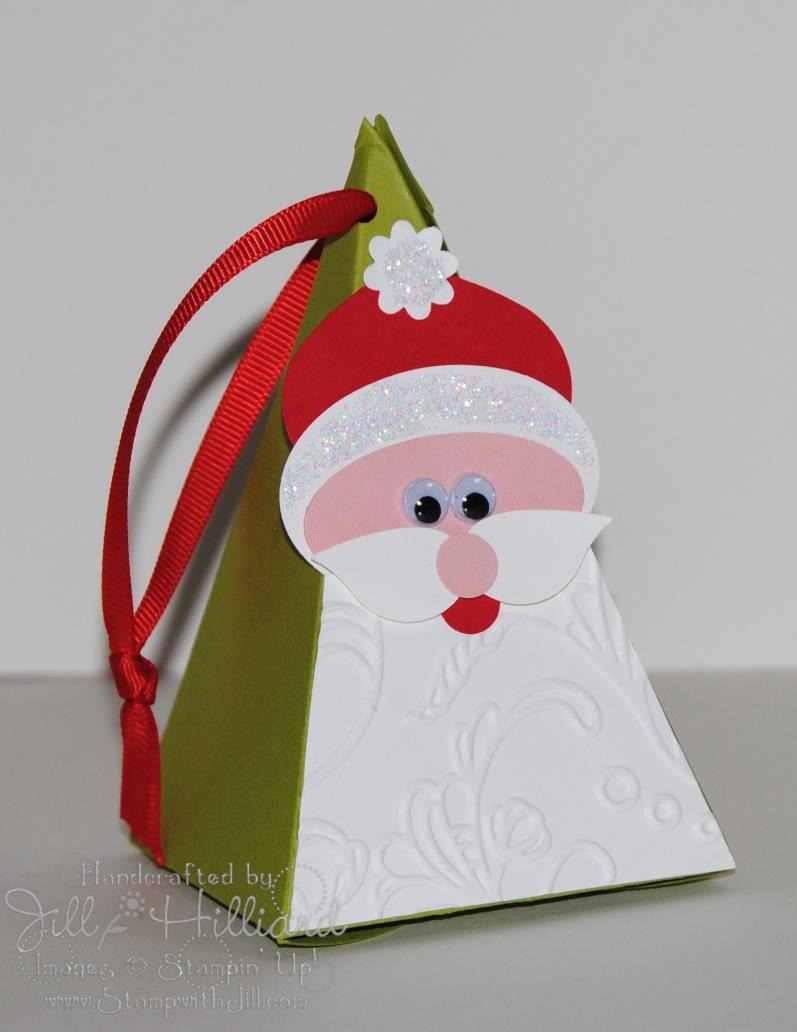 A Jolly Santa – Jill's Card Creations