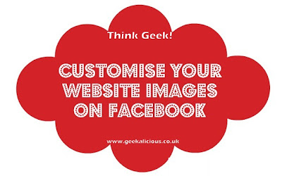 facebook images, tutorial, geekalicious, think geek