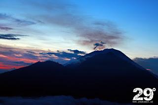 Bestigning av Mount Batur