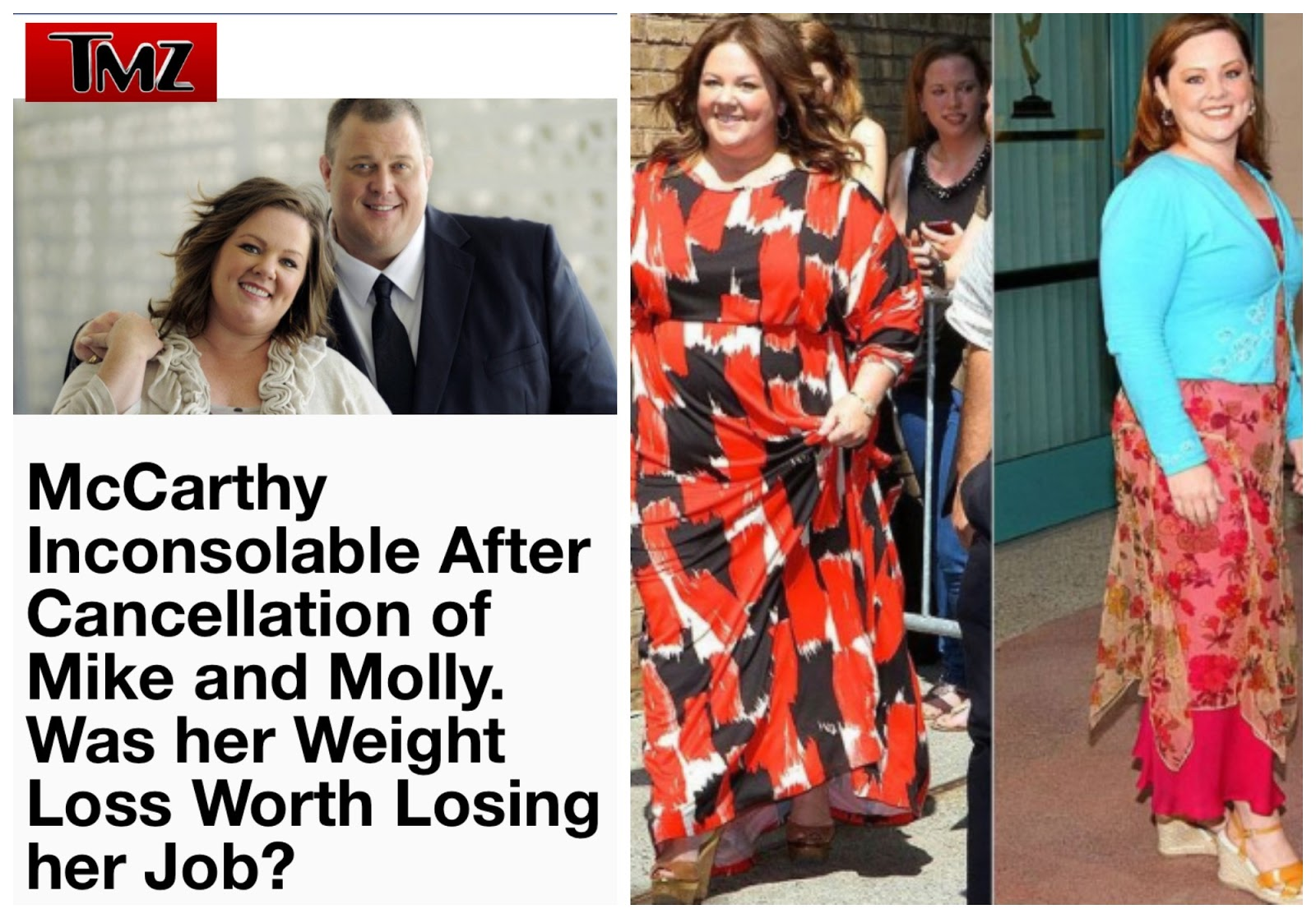 Did Melissa Mccarthy Really Lose Weight