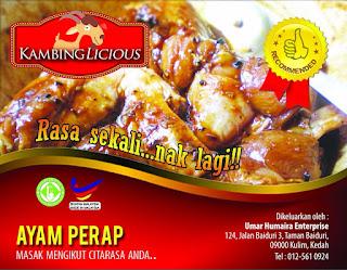 Kambinglicious Ayam Perap