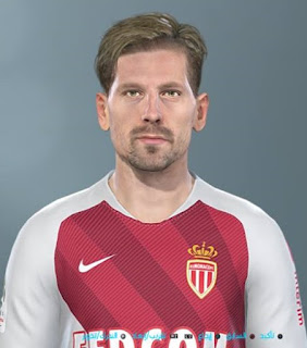 PES 2019 Faces Adrien Silva by Shenawy