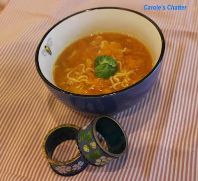 Carole's Chatter: Pumpkin Noodle Soup