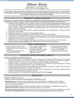 wireless research scientist sample resume format in word free download