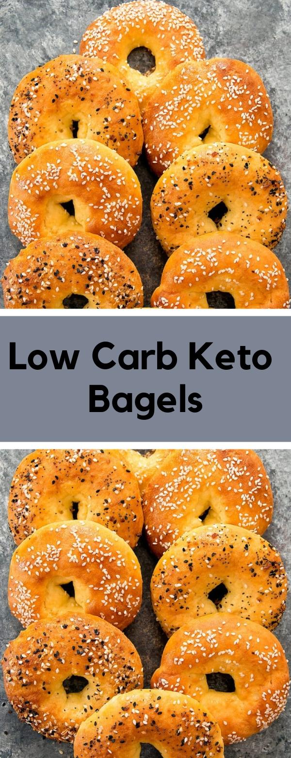 Low Carb Keto Bagels #KETO #LOWCARB #GLUTENFREE