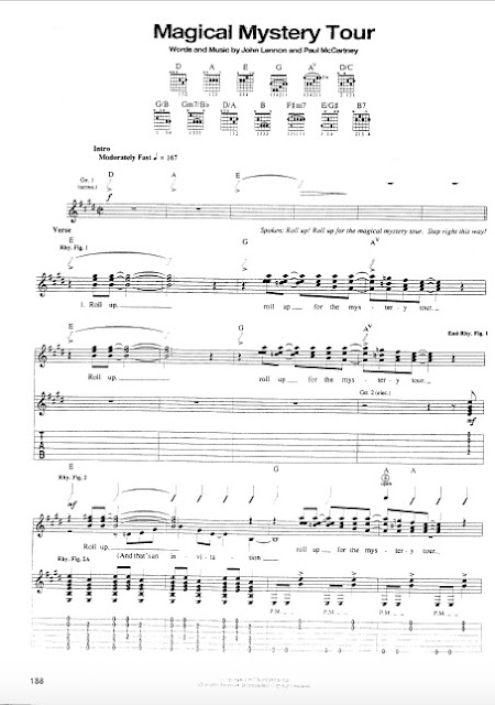 The Beatles - Magical Mystery Tour partitura