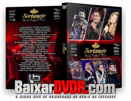 Sertanejo Music Fest (2017) DVD-R