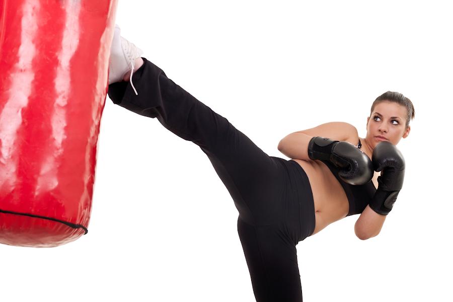 Puedes ponerte en forma con el Kick Boxing