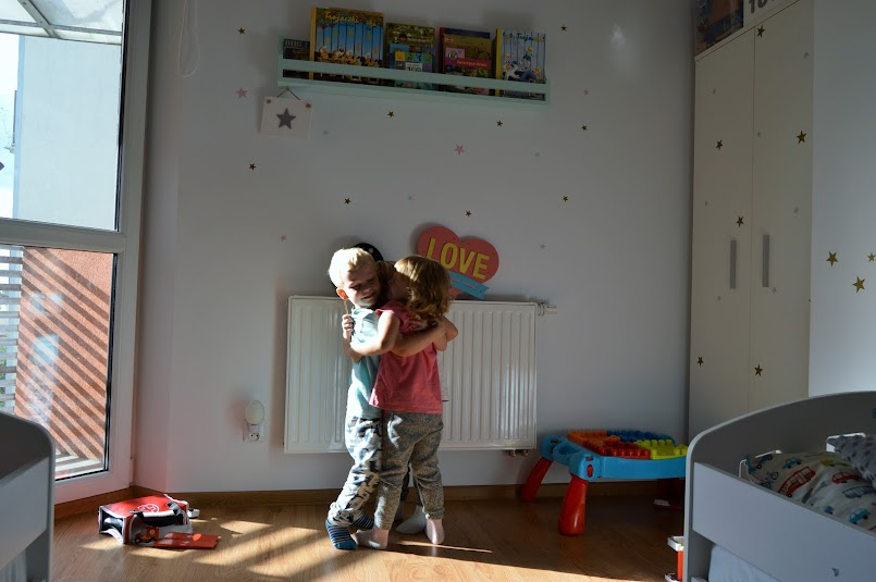 Nowy pokój trojaczków - #NaszeM3