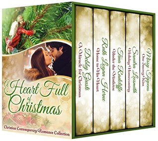 Heidi Reads... A Heart Full of Christmas: Contemporary Inspirational Holiday Romance Collection by Debby Giusti, Ruth Logan Herne, Sandra Leesmith, Tina Radcliffe, Missy Tippens