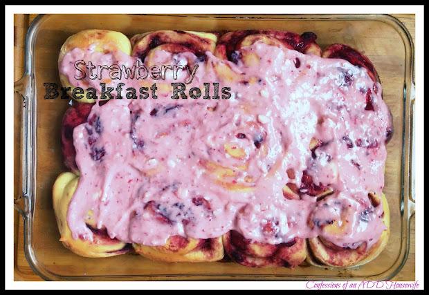 Confessions Of Add English Teacher Strawberry Breakfast Rolls