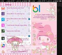 Download BBM Mod Whatsapp - Tema My Melody 2 v2.13.0.26 Apk