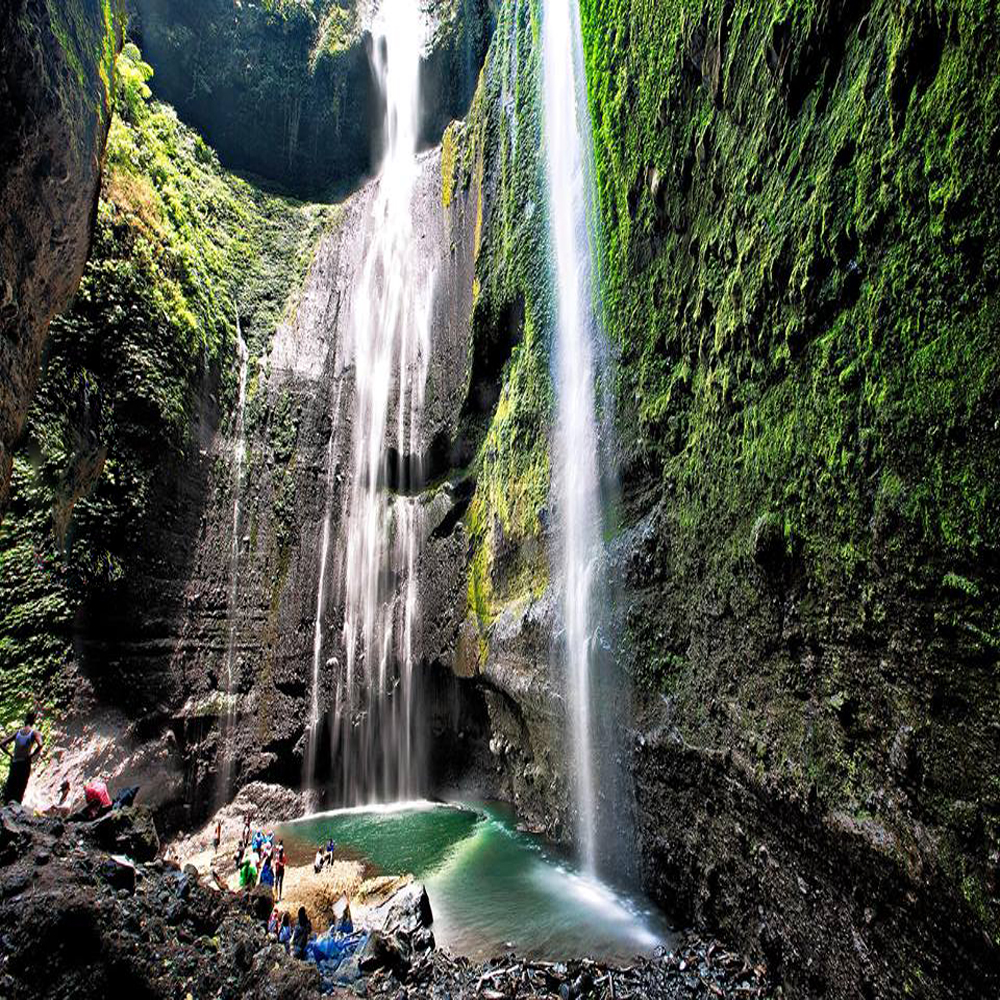 Madakaripura Waterfall of East Java Province, Indonesia