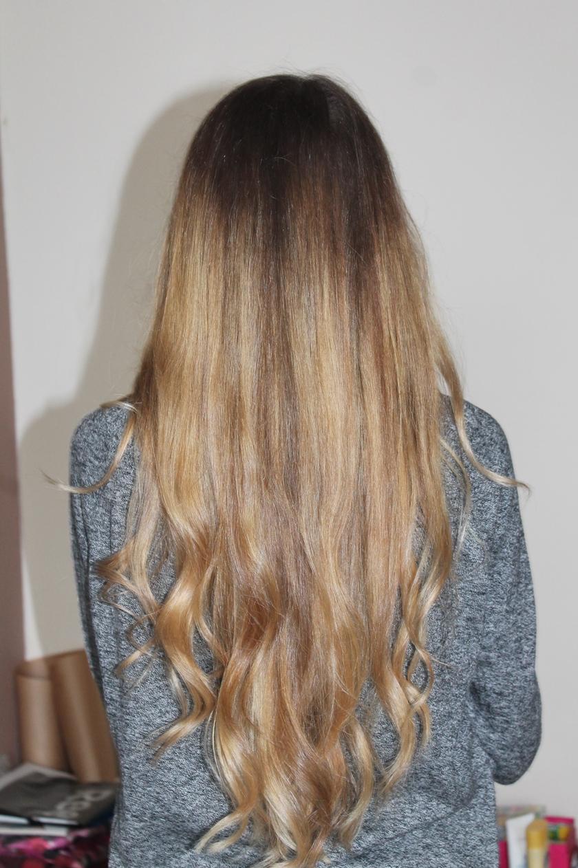 nowe włosy, w końcu zdecydowałam się na ombre