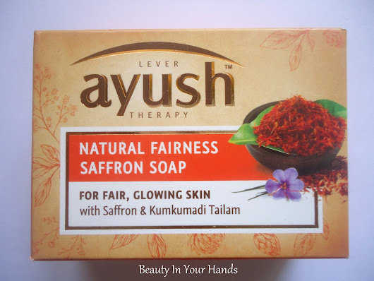 Ayush Natural Fairness Saffron Soap Review