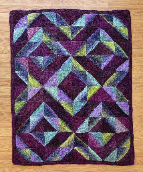 Quilt - Free Knitting Pattern