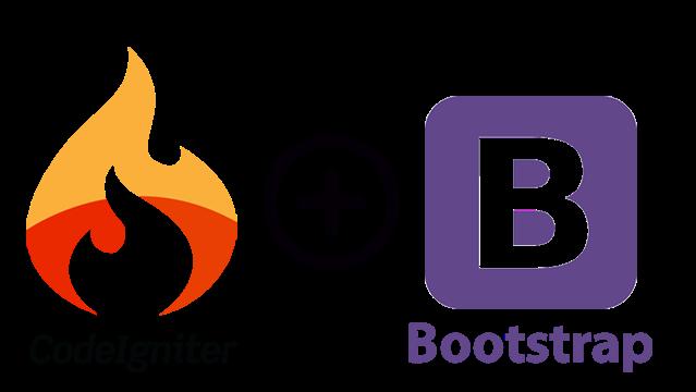 Cara Pasang Template Bootstrap Di Codeigniter
