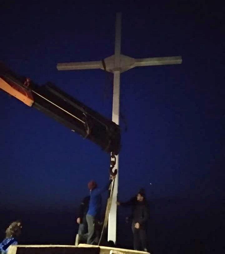Αυτόφωρο Γιατί Έστησαν Ξανά τον Σταυρό στη Λέσβο - 2
