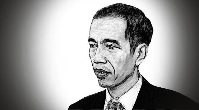 Jokowi, Pentruk Jadi Ratu yang Membuat Dewa Berjubah Putih Lari Terbirit-birit