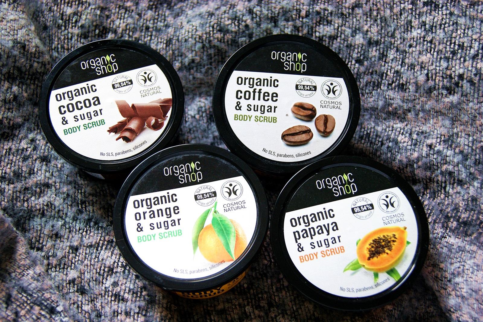 Organic Shop   Cukrowe peelingi do ciała