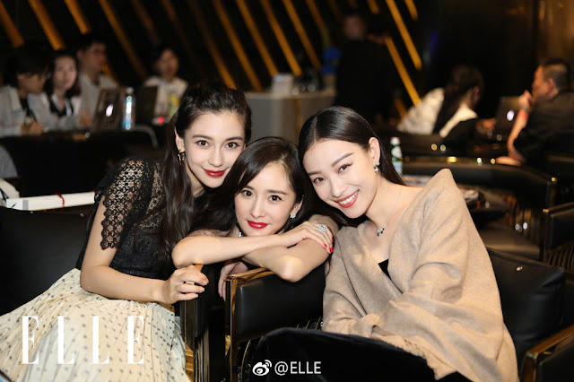 Elle Night Yang Mi, Angelababy, Ni Ni