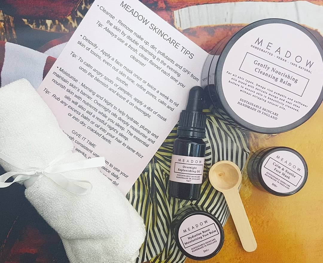 Meadow Skincare Review - capsule collection