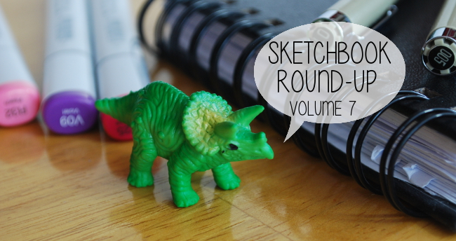 Sketchbook Round-Up: Volume 7 | Yeti Crafts