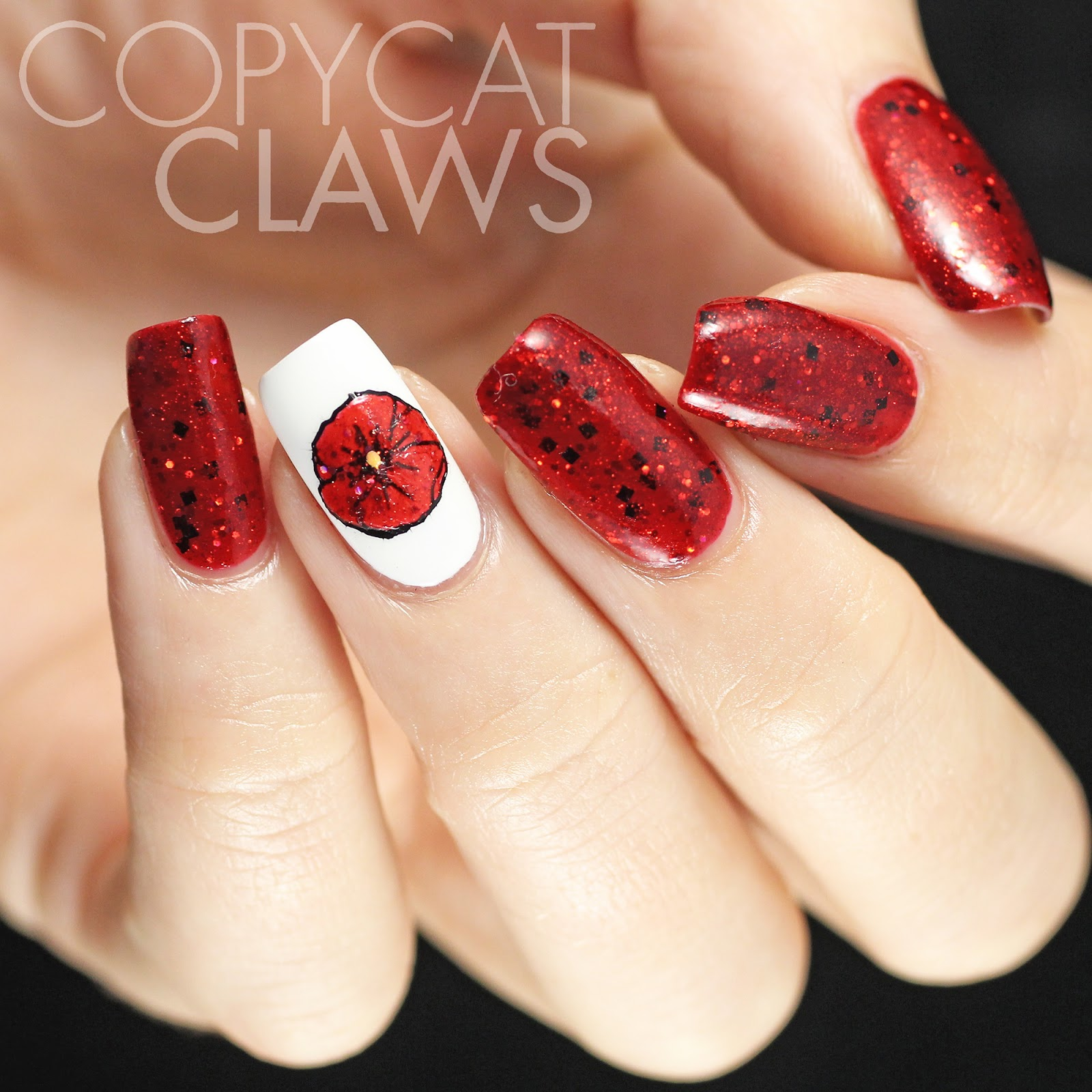 Copycat Claws Remembrance Day Nails