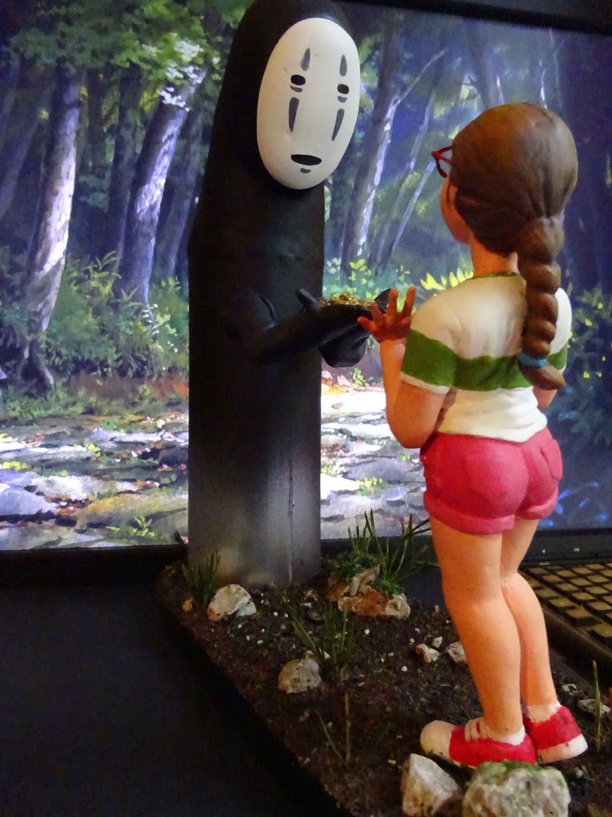 spirited away diorama noface