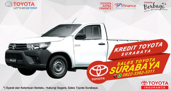 Promo DP Ringan, Paket Kredit Toyota Hilux S-Cab Surabaya