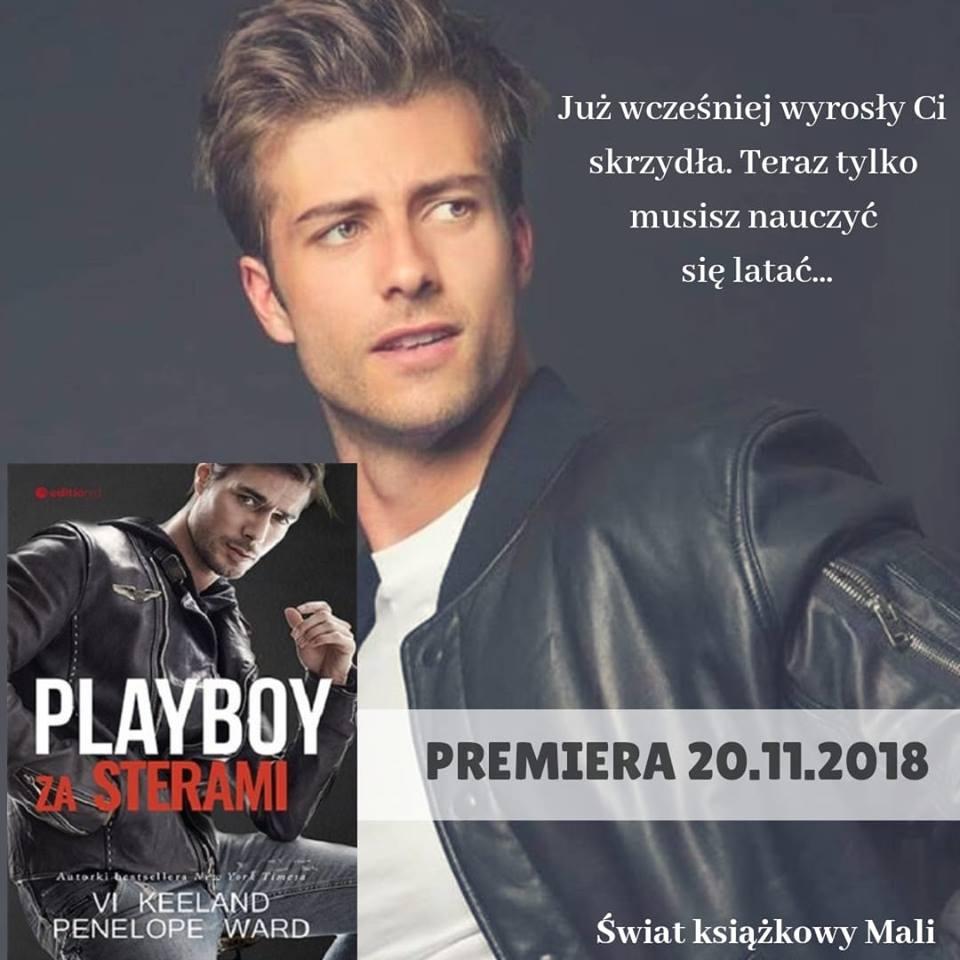 Penelope Ward, Vi Keeland - Playboy za sterami - Wydawnictwo Editio Red - Zapowiedź