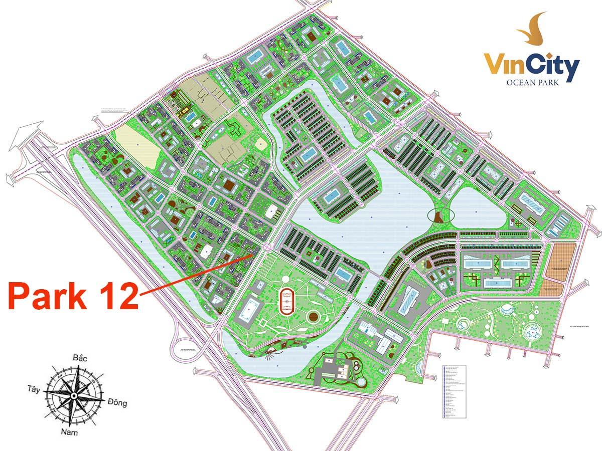 Tòa Park 12 VinCity Gia Lâm
