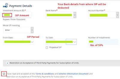 SBI Mutual Fund Online SIP