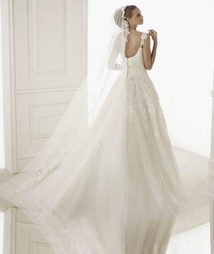 abito da sposa 2015 Pronovias Glamour Bilma e temi matrimonio