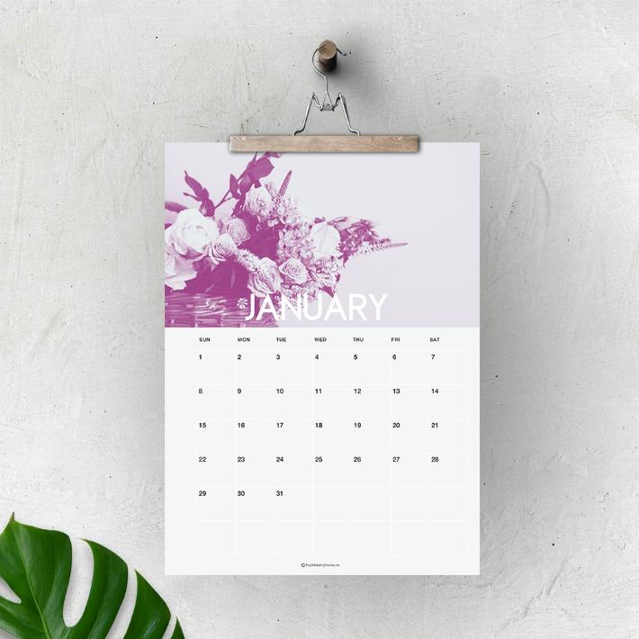 Calendarios 2017 imprimibles gratis